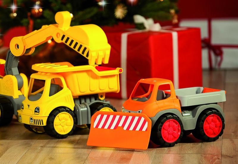 BIG/Kinderfahrzeuge (z. B. Bobby Car):Big Power Worker Truck