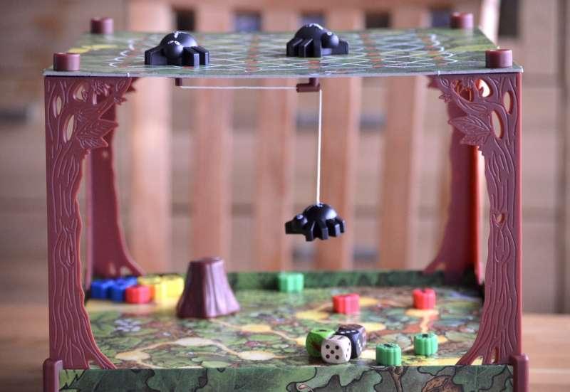 Spinnen-Spiel für die ganze Familie