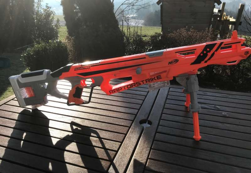 Hasbro/Outdoor & Sport:NERF Blaster im Test
