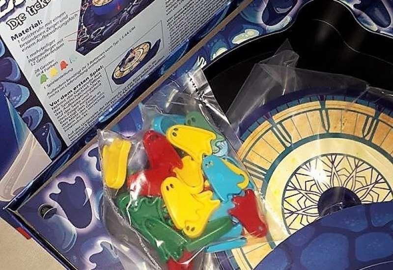 Noris/Spiele & Puzzles:Die tickt doch nicht ganz richtig!
