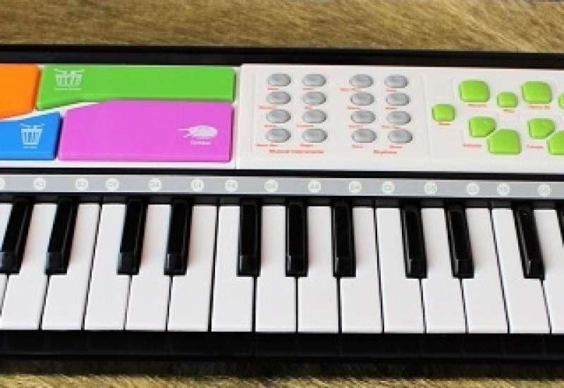 Simba/Instrumente & Musikspielzeug:i-Keyboard für kleine Musiker