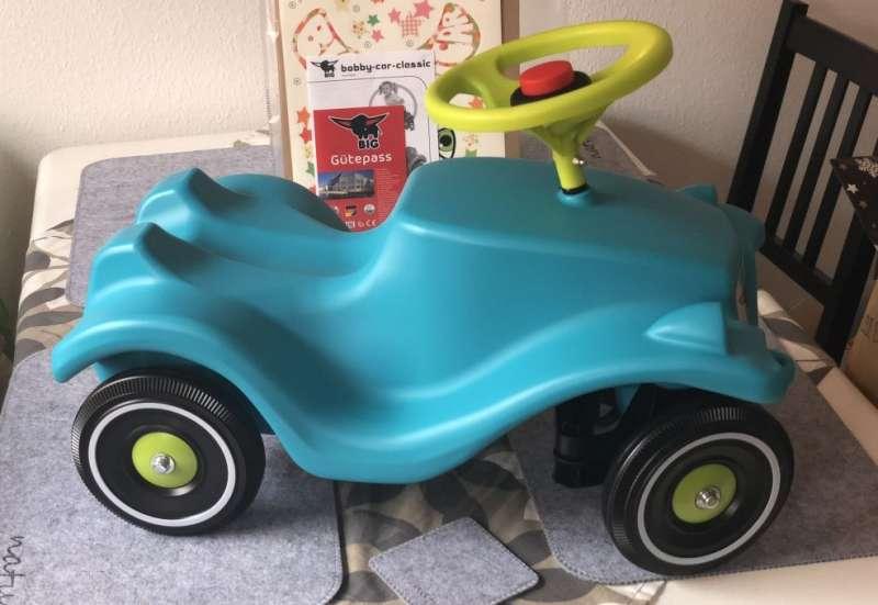 BIG/Kinderfahrzeuge (z. B. Bobby Car):Bunter Flitzer im Test