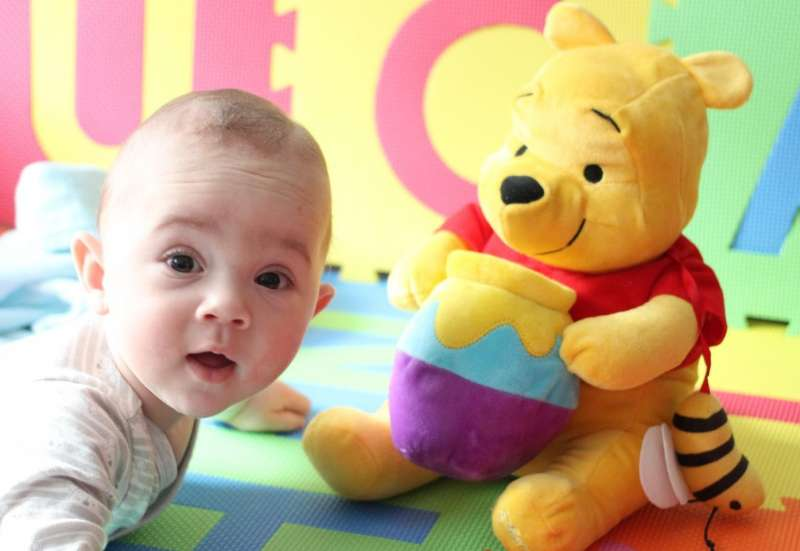 Simba/Baby- & Kleinkindspielzeug:Winnie Puuh Summ herum Biene