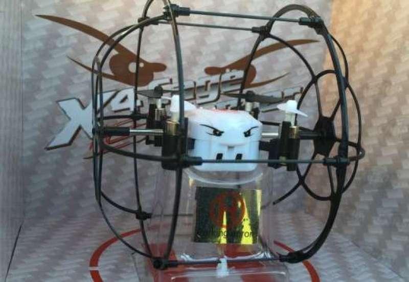 Mini-Drohne im Anflug!