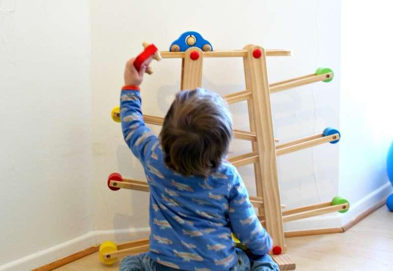 Eichhorn/Baby- & Kleinkindspielzeug:Die Rollbahn für Klein + Groß