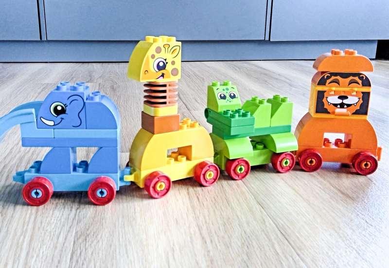 LEGO/Bauen & Konstruieren:Die Ziehtiere von Lego Duplo