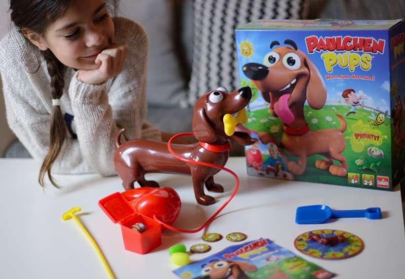 GOLIATH GAMES/Spiele & Puzzles:PAULCHEN PUPS