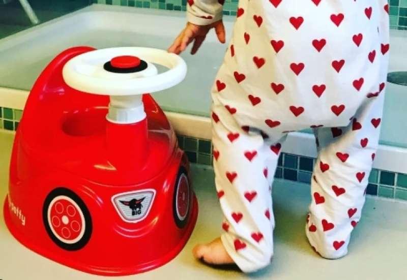 BIG/Baby- & Kleinkindspielzeug:Trockenwerden spielend leicht!