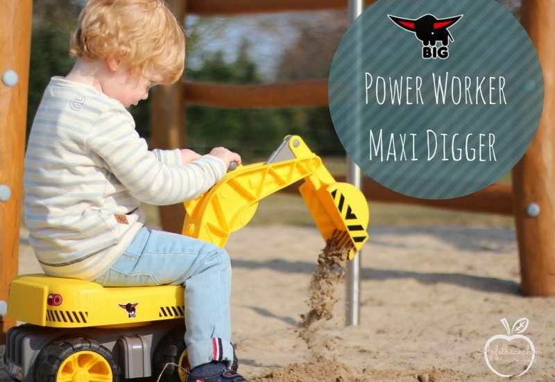 BIG/Autos, Fahrzeuge, Boote & Flieger:Power Worker Maxi Digger